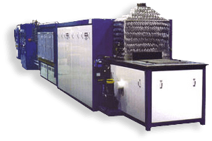 powder metal brazing furnace